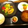 農家の台所の定食。 - 2012/01/26