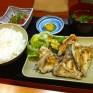 海鮮丼屋の魚定食。安美味い。 - 2012/01/27