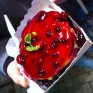 池袋東口裏手のパンケーキ。ベリーベリー。 - 2012/03/29