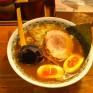 やすべえの塩ラーメン。色が醤油すぎる。 - 2012/03/29
